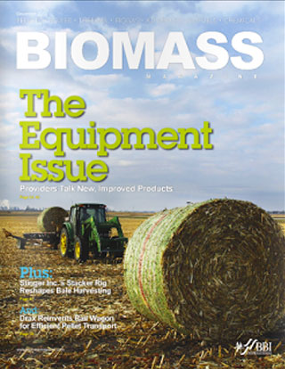 Biomass magazine cover