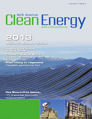 Clean Energy magazine cover