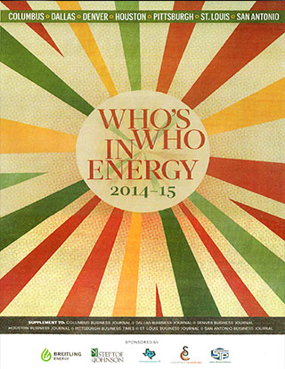 Business First Who's Who in Energy magazine cover