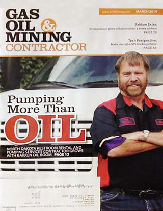 Gas, Oil, Mining Contractor magazine cover