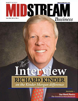 Midstream Business magazine cover