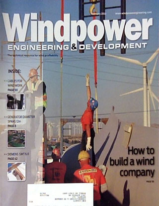 Windpower magazine cover